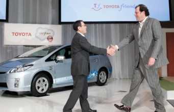 La nueva red social Toyota Friend