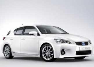 Lexus CT 200h consigue 5 estrellas Euro NCAP