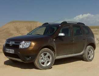 Los detalles oficiales del Dacia Duster