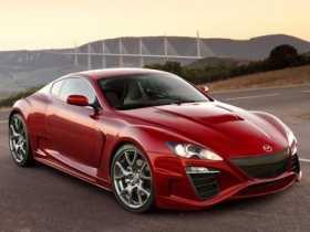 Mazda RX-9 en desarrollo