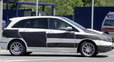Mercedes Benz Clase B 2012 con motor Renault