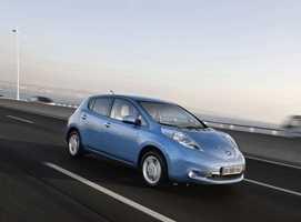 Nissan Leaf gana en seguridad