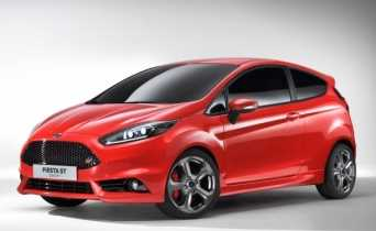 Nuevas fotos Ford Fiesta ST