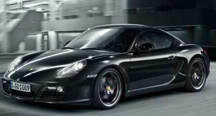 Nuevo Cayman S Black Edition
