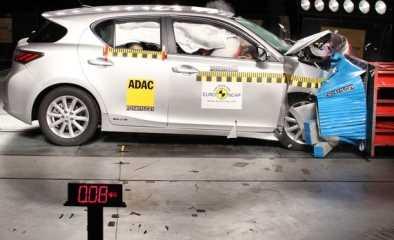 Nuevos resultados EuroNCAP, CT 200h, DS4, Focus, Leaf, V60 y 508