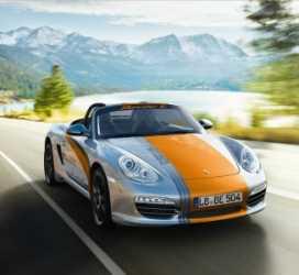 Porsche Boxster E y sus prestaciones oficiales