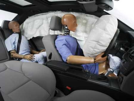 Cuidados en caso de accidente con su airbag